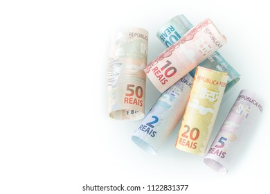 Brazilian money / various denomination