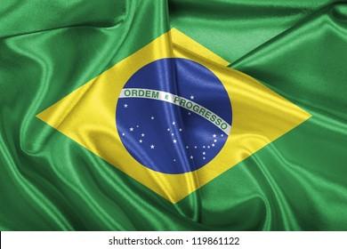 Brazilian national flag.