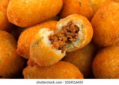 Brazilian snacks fried