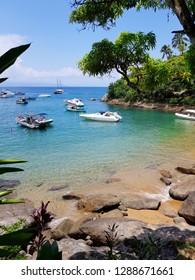 Brazilian summer time, amazing view of Ilhabela-SP