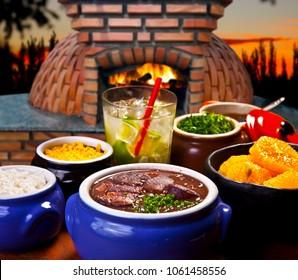 Brazilian traditional feijoada