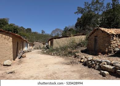 Brazilian village in the Caatinga
