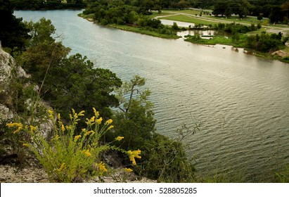 The Brazos river from Cameron Park in Waco Texas