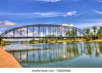 The Brazos River in Waco Texas