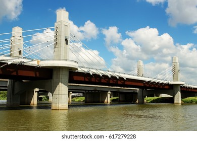 Brazos River, Waco Texas, new bridge