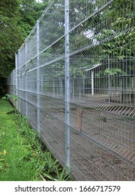 BRC (British Reinforced Concrete) fence or weld fence is a type of fence made of concrete steel