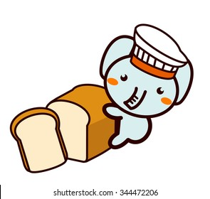 Bread and animal series