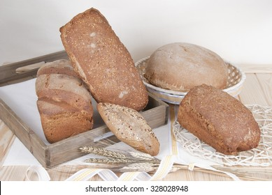 bread assortment of baked, bakery, market