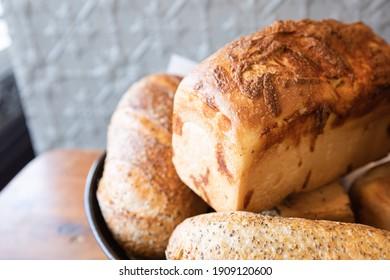 Bread Basket Baked Bread Loaf