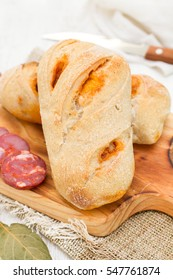 bread with chourico