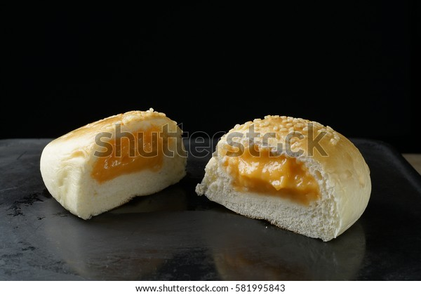 Bread custard filling
