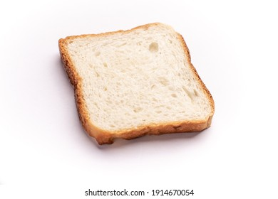 Bread isolated stock image with white background.