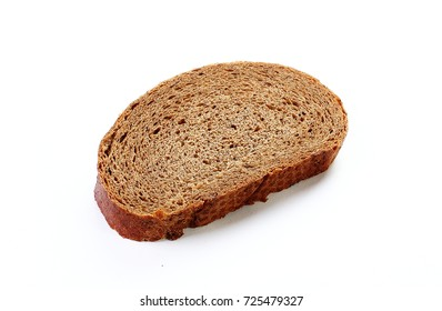 bread isolated white background