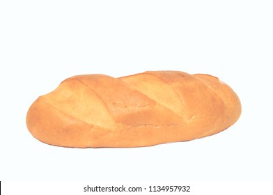 bread,  loaf isolated on a white background