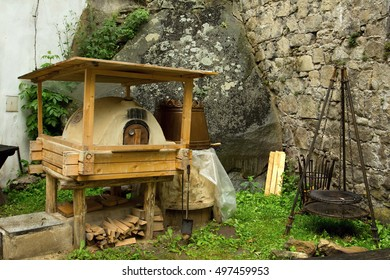 bread oven in  the castle Buchlov, Czech Republic, founded in the 13th century