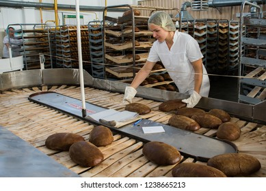Bread production in Belarus April 10, 2018