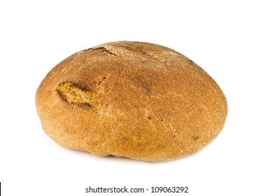 Bread from rye and wheat flour of a rough grinding