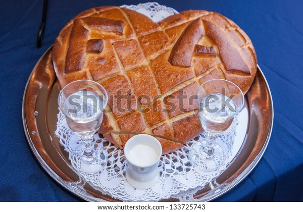 Bread and salt is a Polish welcome greeting ceremony.