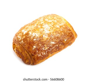 bread whit chocolate isolated