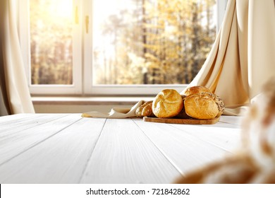bread and window space