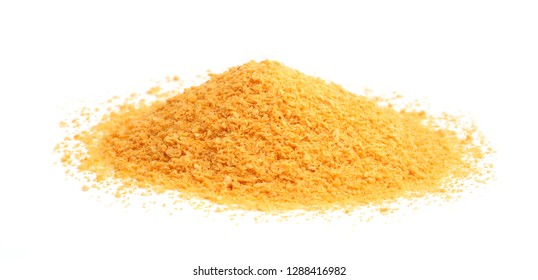 breadcrumbs on a white background