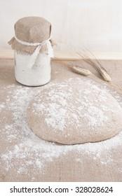 Bread-making process