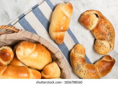 Breadrolls - homemade, gluten free, freshly baked breakfast pastry