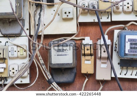 Breakers switch vector flat fuse vector stock photo edit now