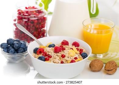 Breakfast, cereal, vegan.