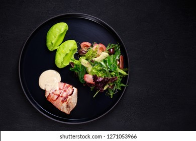 breakfast food, business lunch, restaurant menu photo, delicious nourishing morning meals