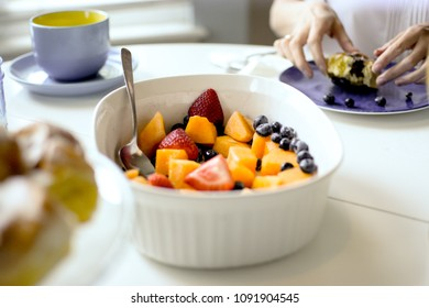Breakfast Fruit Bowl