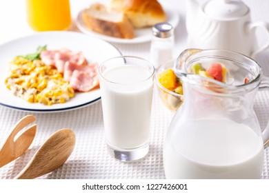 Breakfast ~ milk