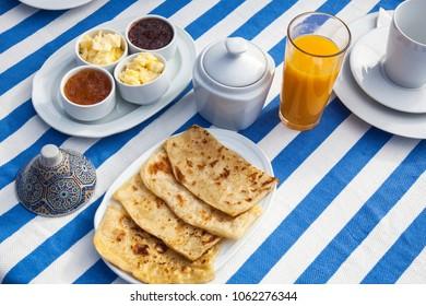 breakfast in morocco