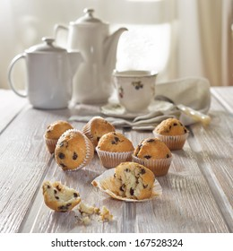 Breakfast with muffins