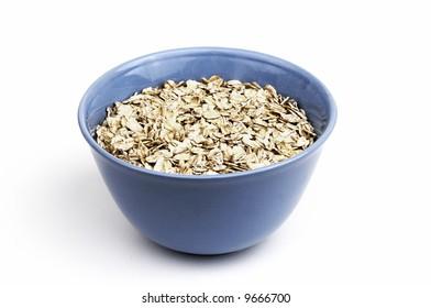 breakfast oats in bowl