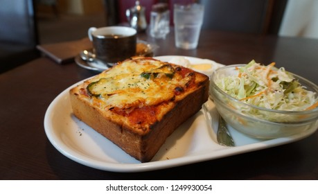 breakfast for pizza toast