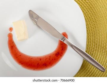Breakfast serving