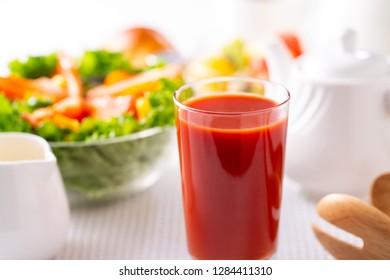 Breakfast ~Tomato juice