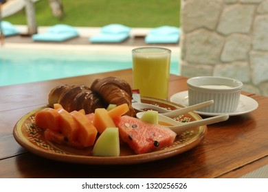 Breakfast in the tropics!