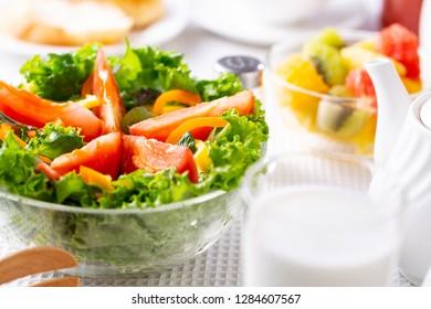 Breakfast ~ vegetable salad
