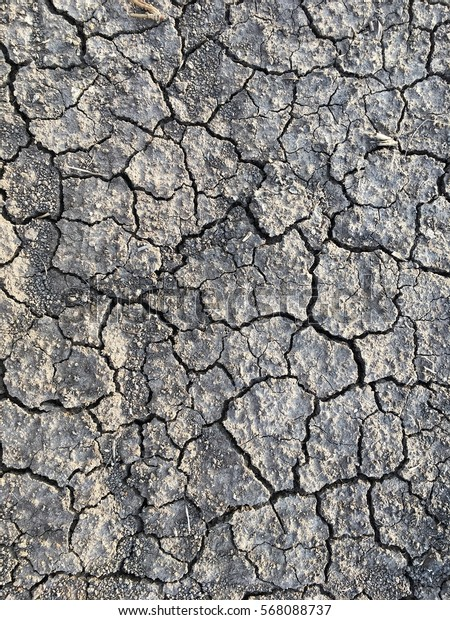 Breaking soil surface background