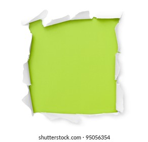 Breakthrough paper square