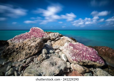 Breakwater in the Caribbean