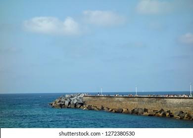 breakwater in totnes,devon
