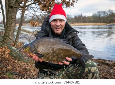 Bream fishing trophy for Christmas