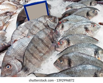 Bream in ice for sale