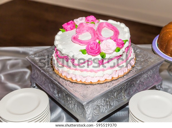 Groovy Breast Cancer Survivor 50Th Birthday Cake Stock Photo Edit Now Funny Birthday Cards Online Barepcheapnameinfo