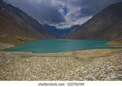 The Breath taking view of sadpara lake,skardu,pakistan