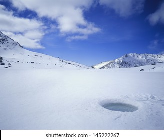 Breathing Hole in Ice