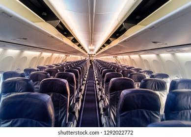 Breathtaking Airplane Beautiful Passenger Seats Gallery View